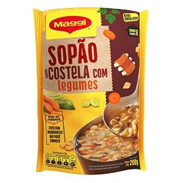 Maggi, Sopão, Costela com Legumes, Sachê, 200g