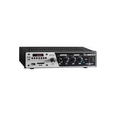 Amplificador E Receiver Slim 30w 1000-Usb-Fm Frahm