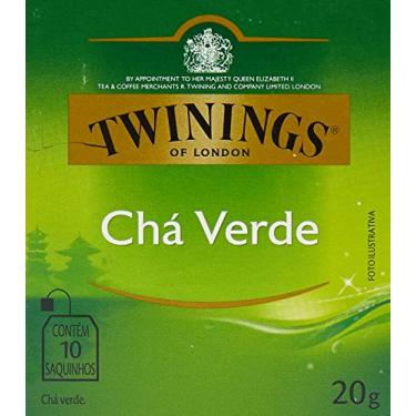 Twinings Chá Verde 20g (pacote de 10 saquinhos)