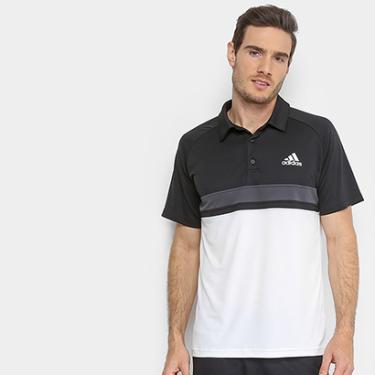 6a42af654e Camisa Polo Adidas ColorBlock Club Masculina - Masculino