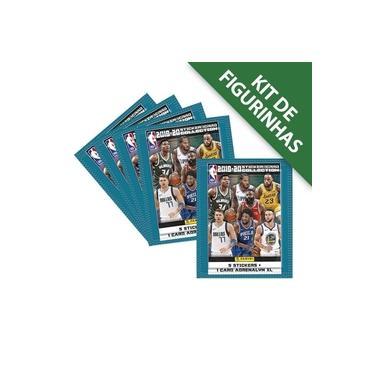 Kit de Figurinhas NBA 2019/20 - Contém 12 envelopes (60 crom