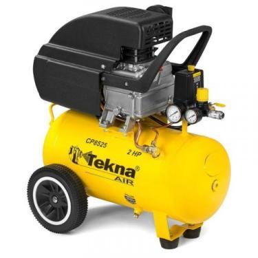 Compressor de Ar 2,0 HP 24 Litros 8,5 PÉS CP8525 (NOVO) TEKNA