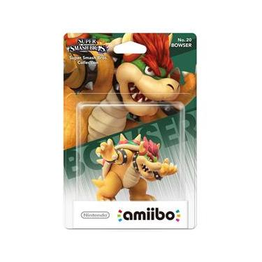 Boneco Nintendo Amiibo: Bowser - Wii U