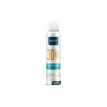 Protetor Solar Above Aerosol Fator 30 Fps (oil Free) Com 150 Ml/ 120g