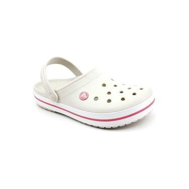 Imagem de Chinelo Infantil Crocs Crocband Kids Stucco Melon