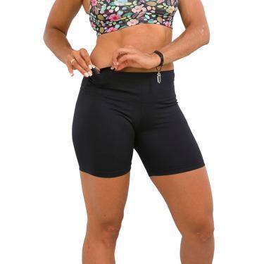 Bermuda Fitness Feminina Preta Up G