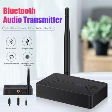 Bakeey TX13 Bluetooth 5.0 Adaptador Transmissor de Áudio Bluetooth Adaptador para TV Fone de ouvido para Smart Phone Tab Banggood
