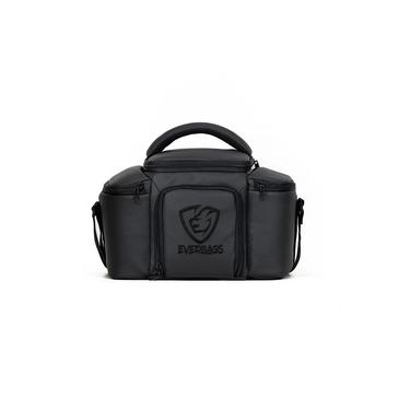 Bolsa Térmica Porta Marmita Fitness Top Black Luxo