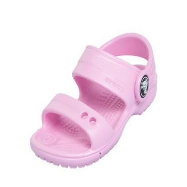 Sandália Crocs Classic Sandal K Rosa  menina