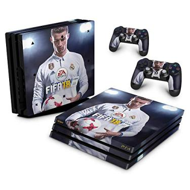 Skin Adesivo para PS4 Pro - Fifa 18