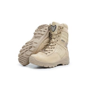Bota Coturno Militar Extreme Touro Boots Acero Masculina Bege