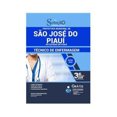 Imagem de Apostila São José Do Piauí Pi - Técnico De Enfermagem