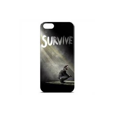 Capa Para Iphone 5 E 5s De Plástico - The Walking Dead   Survive