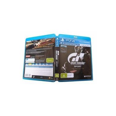 Estojo Com Capa Gran Turismo Sport Day One Edition Ps4 sem jogo