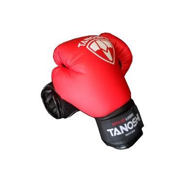 Luva Boxe MuayThai Infantil tanoshi vermelha