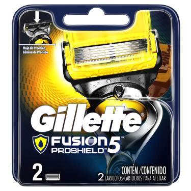 Imagem de Carga para Aparelho de Barbear Gillette Fusion Proshield com 2 unidades 2 Unidades