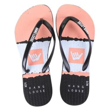 Chinelo Hang Loose Slim Duo Color Feminino