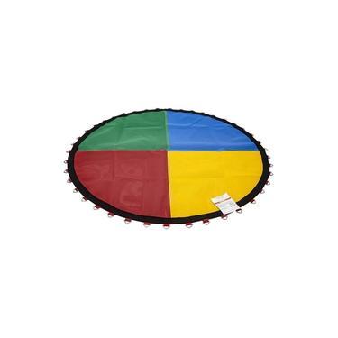 Imagem de Lona De Salto Para Cama Elástica 3,66 M Ou 3,70 M 72 Molas Canguri Quadricolor Nacional