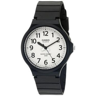 90330166df0 Relógio Masculino Casio Analógico MW2407BVDF - Preto