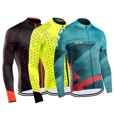 Roupa de ciclismo masculina, camisa de manga longa para ciclismo, nova roupa masculina para outono e 238305349