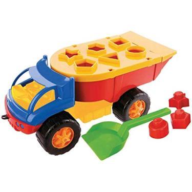 Imagem de Brinquedo Educativo Iron Truck Dismat