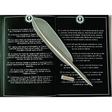 Caderno Death Note L Kira Ryuk Livro Livro Morte+caneta Pena