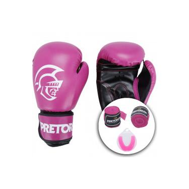 80f4553e3 Kit de Boxe Pretorian  Bandagem + Protetor Bucal + Luvas de Boxe First - 10