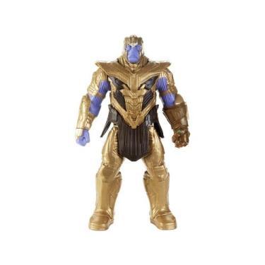 Boneco Thanos Marvel Avengers - Titan Deluxe 2.0 Hasbro