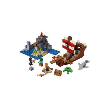 LEGO Minecraft - A Aventura do Barco Pirata