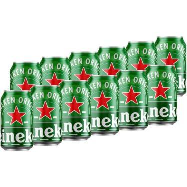 Cerveja Heineken Pilsen 350ml - 12 Unidades