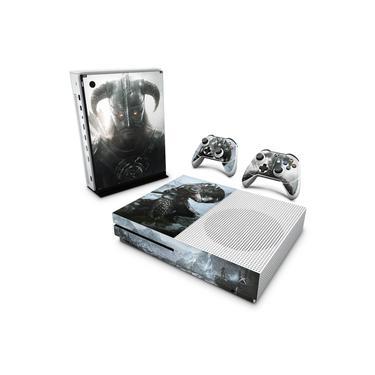 Skin Adesivo para Xbox One Slim - Skyrim