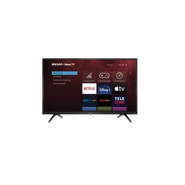 """Imagem de Smart TV Semp Roku Led 43"""" R5500 FHD Wifi Dual Band , 3 HDMI, 1 Usb, Com Controle Por Aplicativo"""