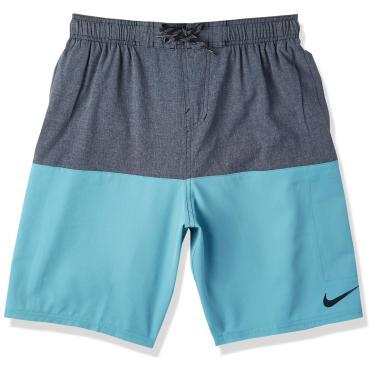 Bermuda 9-Inch Heater Split Shorts Nike Homens P Azul