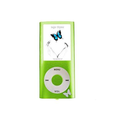 MP4 Logic FL670 TF Entr p/micro SD tela 1.8 Verde