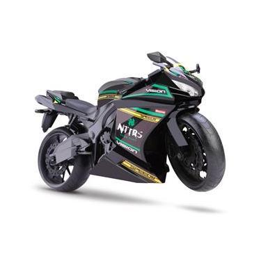 Moto Rodas Livres - Roma Racing Motorcycle - Preta