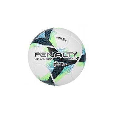 Bola de Futsal Penalty Matis 500 Termotec VIII - Branco e Verde 4b52b38b1f41b
