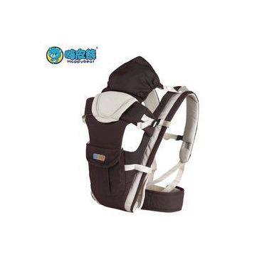 Canguru Para Carregar Bebê Conforto Bolsa Com Capuz 3 Em 1- Marrom