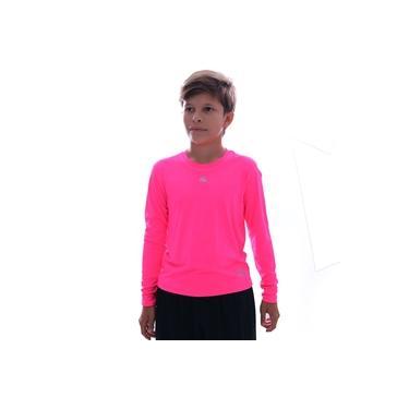 Camisa Térmica Kanxa Baby Look Protection M/l Infantil Rosa