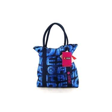 Bolsa Tote Fico Azul ref 736245 Pacific