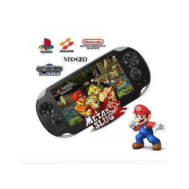 Video Gamer Portátil jogos Nes Nintendo Sega Gba Mp4 Filmes X9-S