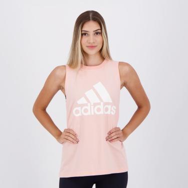 Regata Adidas Bos CO Tank Feminina Rosa - P