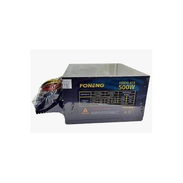 Fonte De Alimentação 500W Real Foneng 24P Atx Hdw-0002