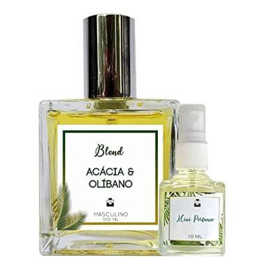 Imagem de Perfume Acácia & Olíbano 100ml Masculino - Blend de Óleo Essencial Natural + Perfume de presente