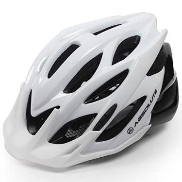 Imagem de Capacete Ciclista High One WILD Branco Tam M