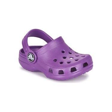 Sandália Infantil Crocs Classic - Roxo