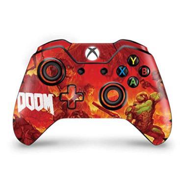 Skin Adesivo para Xbox One Fat Controle - Doom