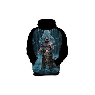 Blusa De Frio Moletom Agasalho God Of War 4 Kratos Game Hd 1