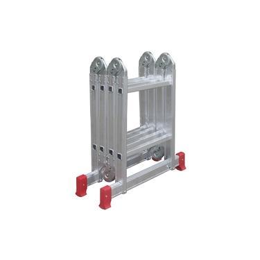 Imagem de Escada Articulada 13 posições em alumínio - 4x2 - 08 Degraus