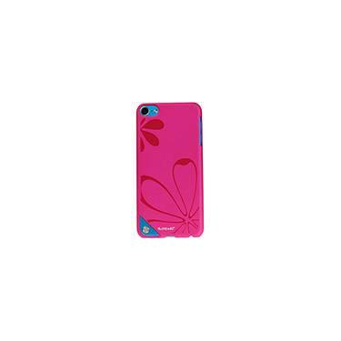 Capa Ice Painted Crystal para iPod Touch 5 Pink - Ipearl