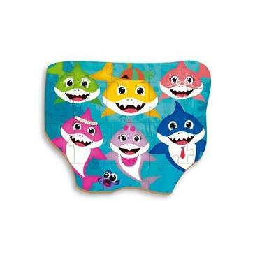 Imagem de Quebra Cabeça Grandão 18 Peças Club Shark - Brincadeira De Criança 2352
